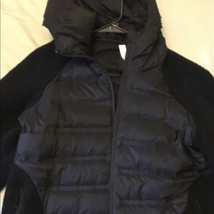 Lululemon light weight  down/fleece jacket